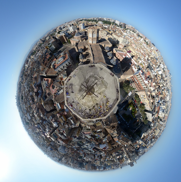 Valencia Aérea - Torre del Miguelete